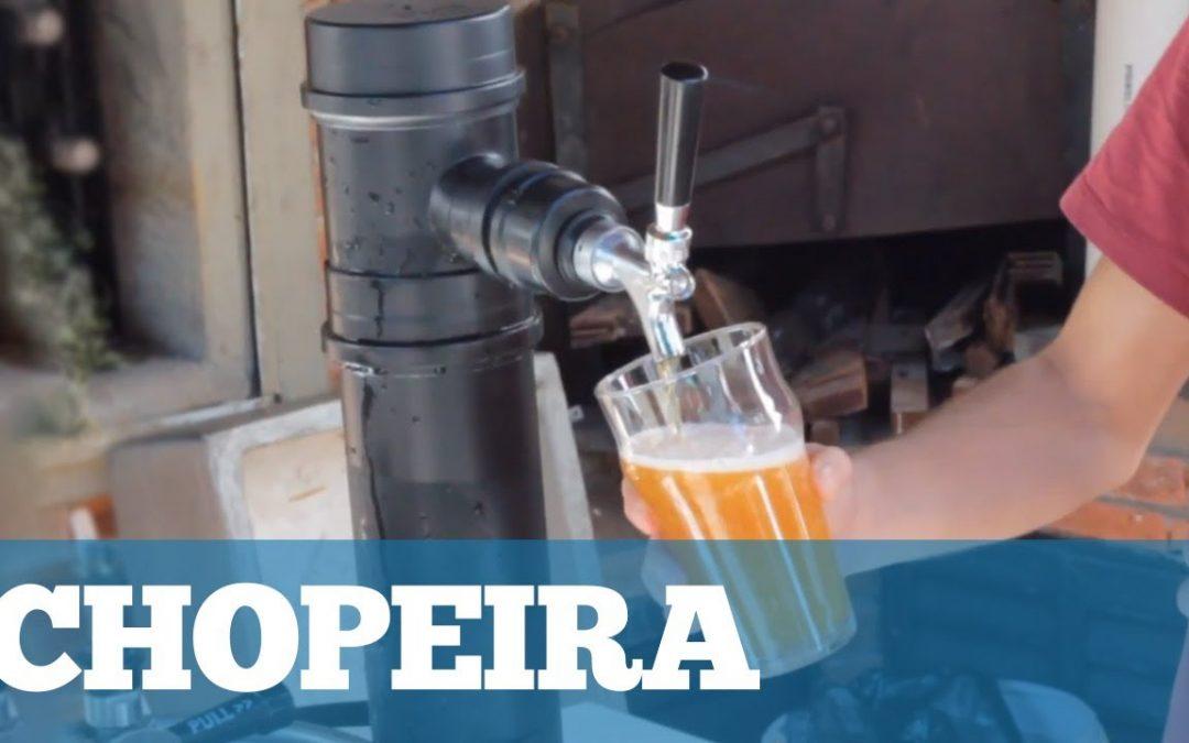 Como Fazer uma Chopeira Portátil (Vertical)