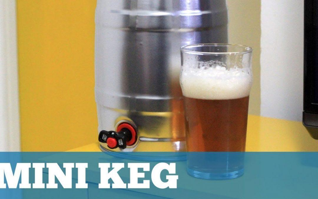 Como Usar um Mini Keg para Cerveja Caseira