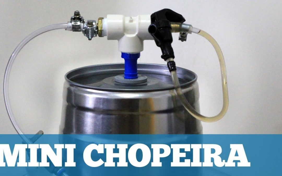 Como Fazer uma Mini Chopeira para Mini Kegs (Extratora Caseira)