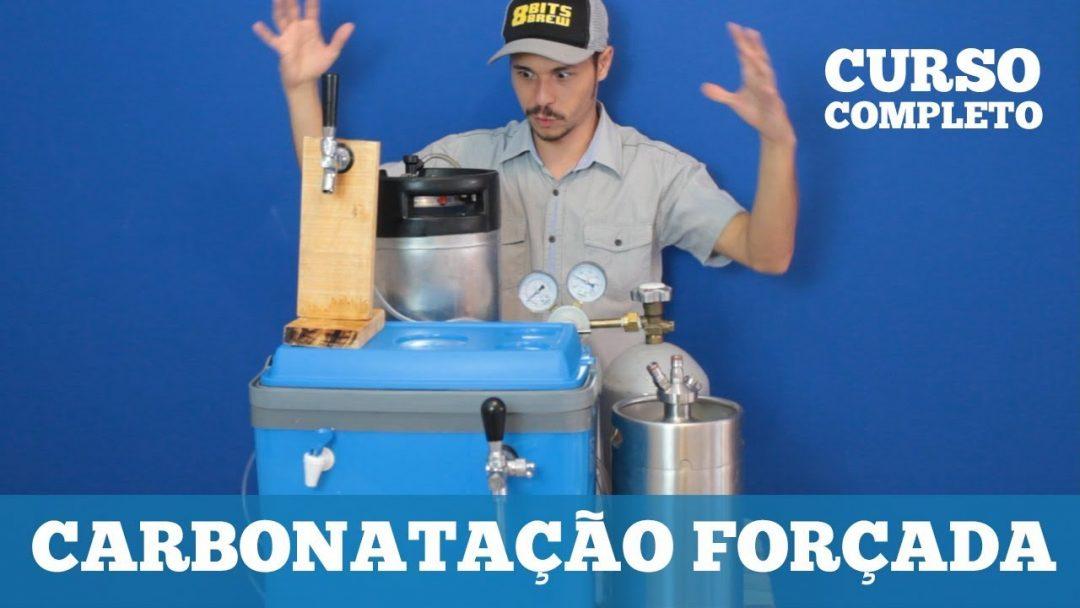 CURSO de Carbonatação Forçada e uso de barris de Cerveja (Post-mix)