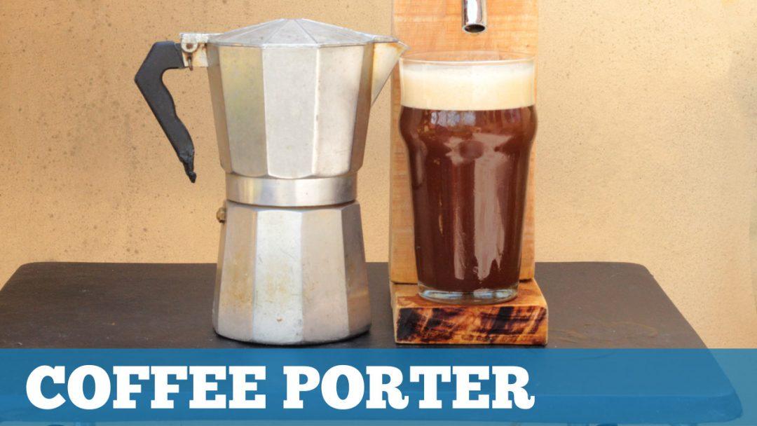 Receita Cerveja Porter com Café (Extrato de Malte + Grãos)
