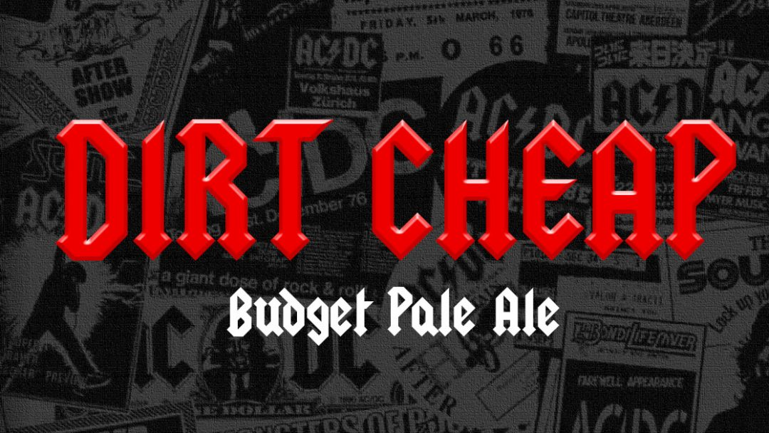 Receita da Semana – Dirt Cheap – Budget Pale  Ale
