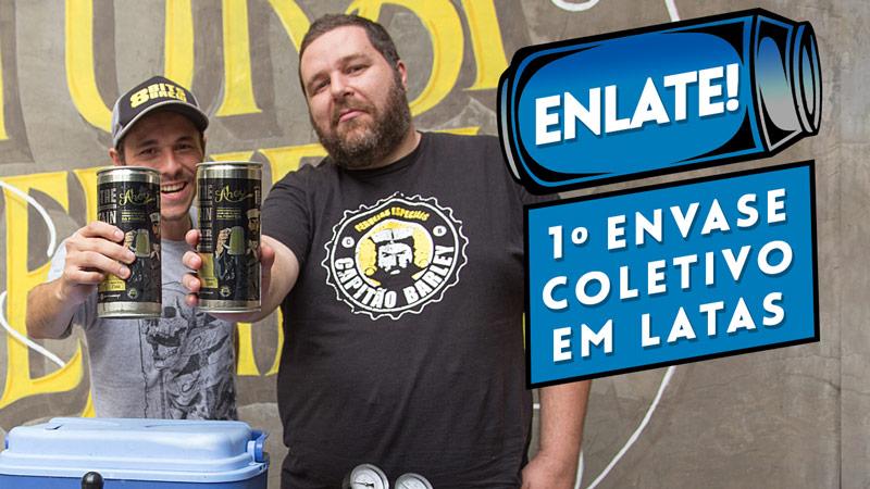 Enlate – 1º Envase Coletivo em Latas para Cervejeiros Caseiros