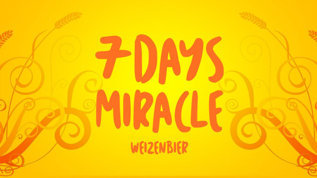 Receita da Semana: 7 Days Miracle Weizenbier