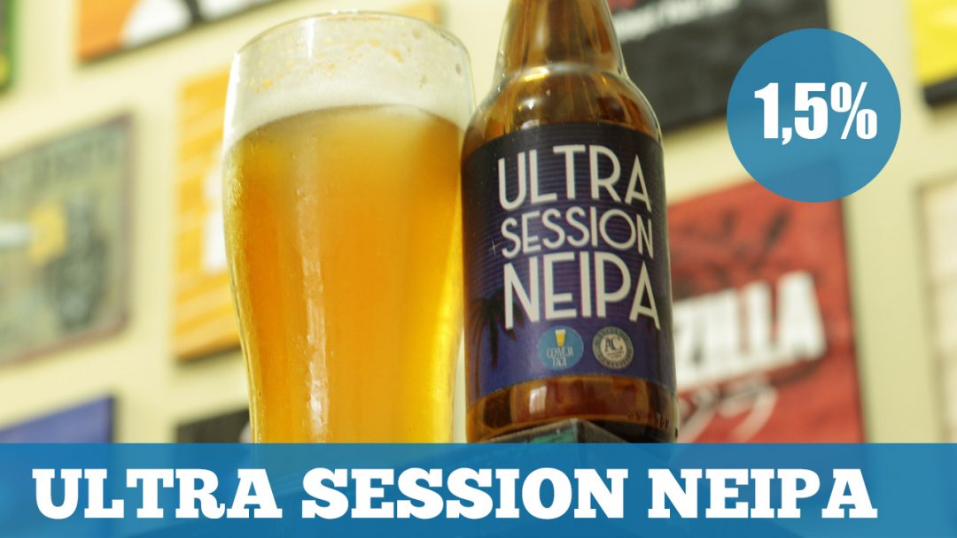 Receita Ultra Session New England IPA (1,5% ABV)