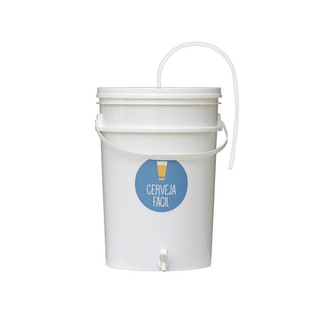 Balde Fermentador 20 litros com mangueira Blowoff (recondicionado e higienizado)