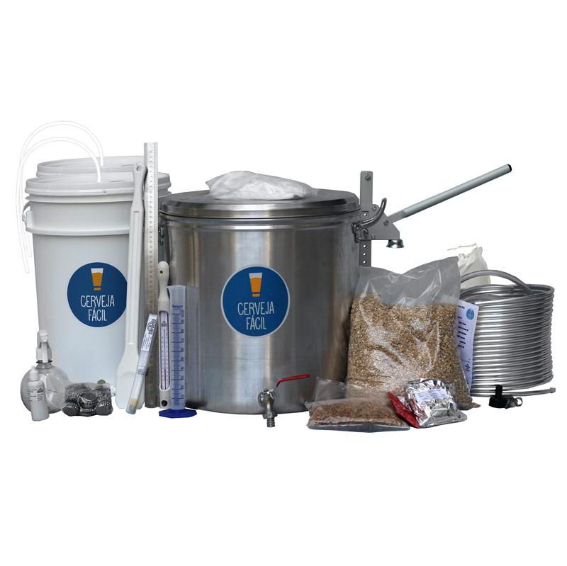 Kit Equipamentos Cerveja Fácil 2.0 – BIAB 20L