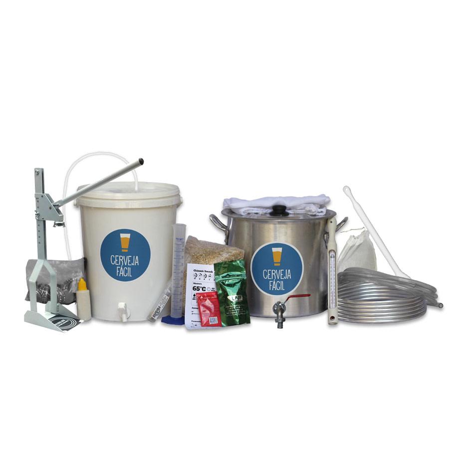 Kit Equipamentos Cerveja Fácil 2.0 – BIAB 10L