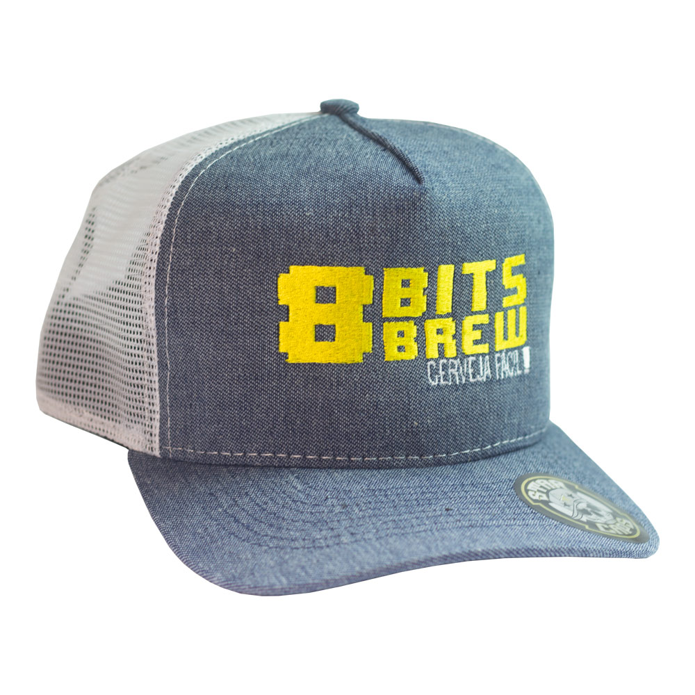 Boné Clássico 8-Bits Brew - Cerveja Fácil