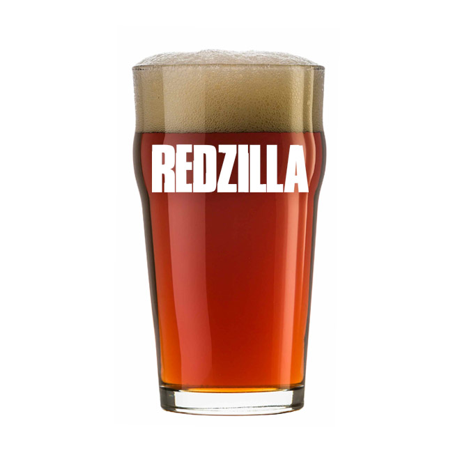 Kit Receita Cerveja Fácil Redzilla Strong Amber Ale
