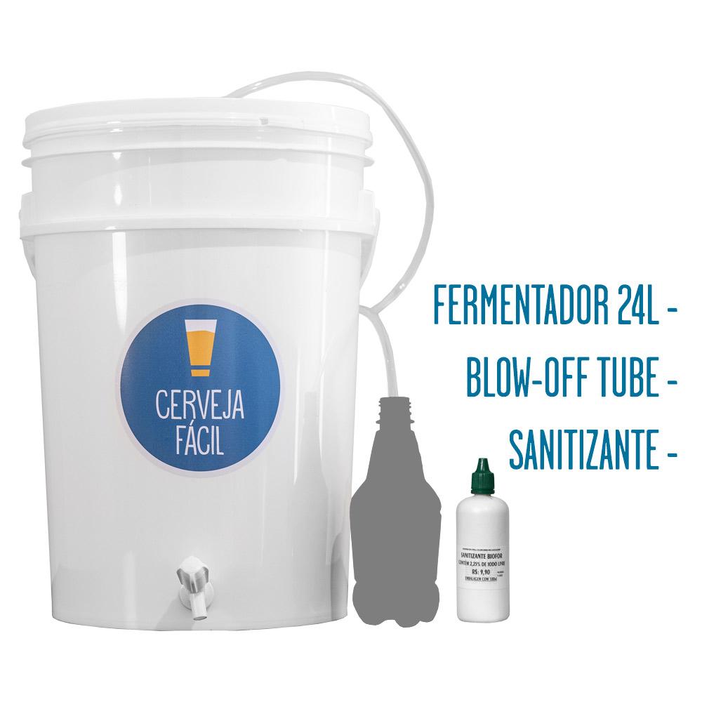 Kit Equipamentos Cerveja Fácil – BIAB 20L Basic