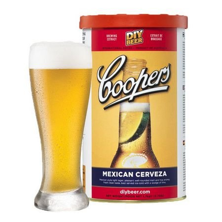 Beer Kit Coopers Mexican Cerveja - 23l