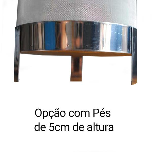 Cesto Inox 40cm - Panelas 45L