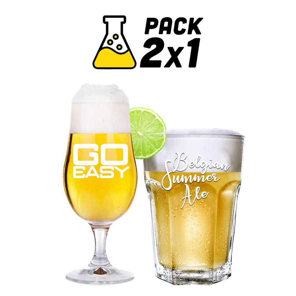 Pack de Receitas 2x1 - Go Easy e Belgian Summer