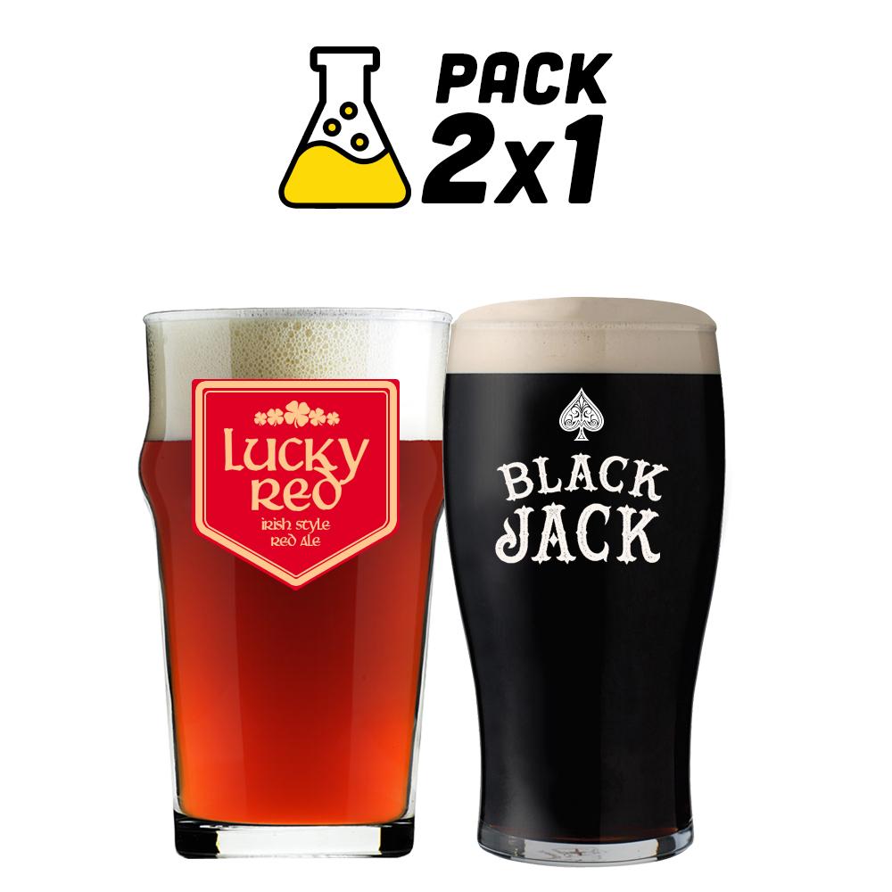 Pack de Receitas 2x1 - Lucky Red e Black Jack