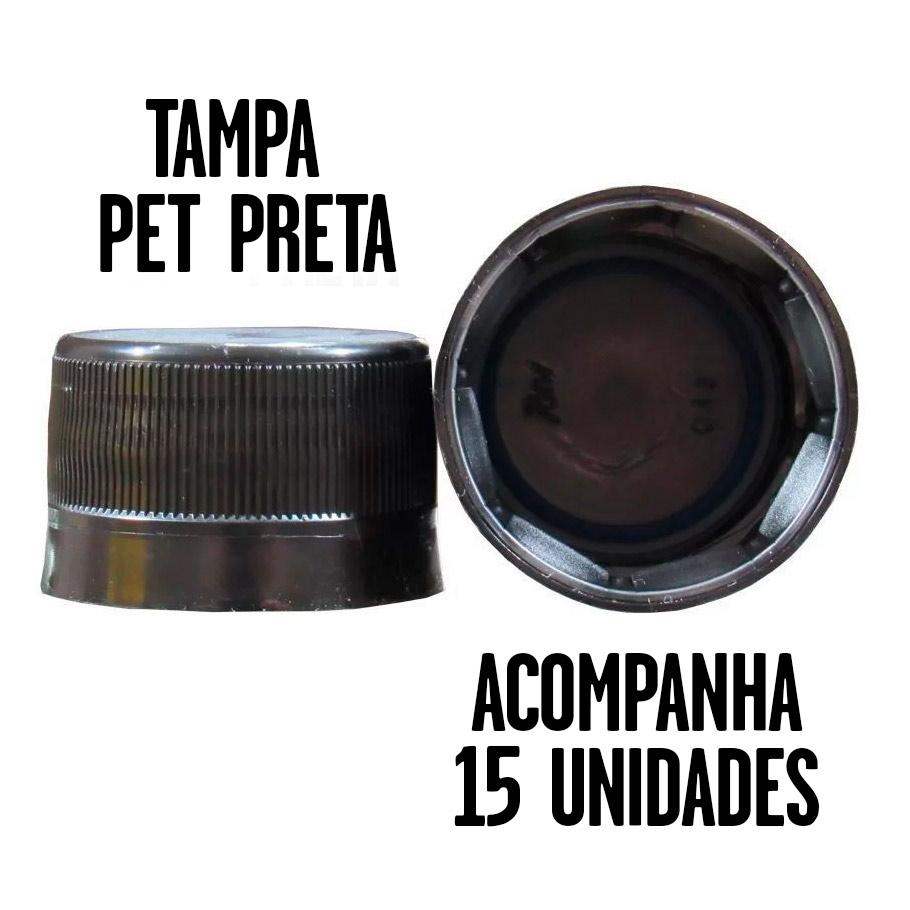 Garrafa PET 600ml – Pack 15 unid